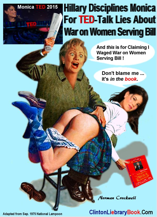 Monica hillary nude clinton lewinsky